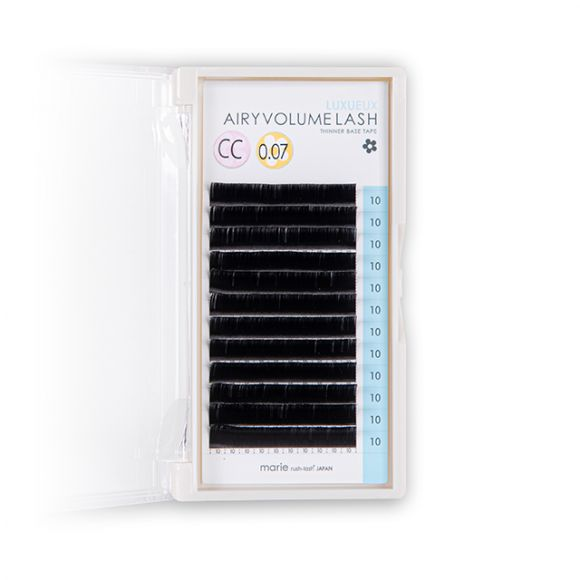 Airy Volume Lash Luxueux C Curl 0.05mm 09mm
