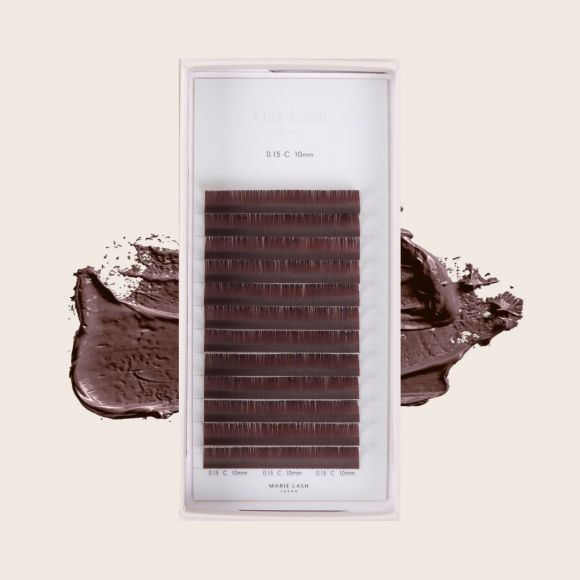 Flat Lash Chocolat Noir J 0.15 x 08mm