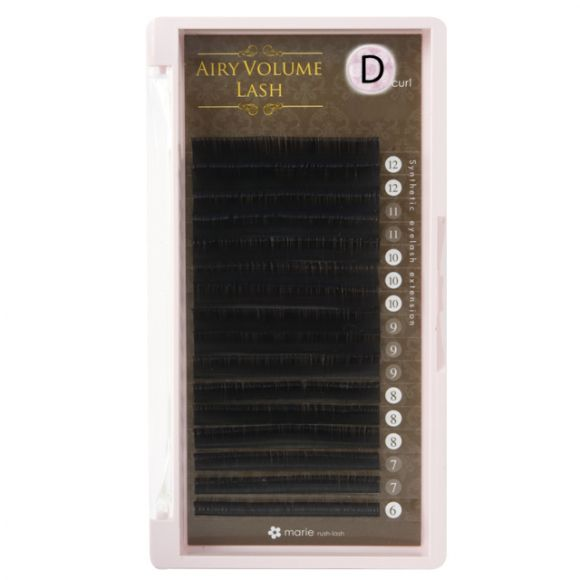 Airy Volume Lash D 0.03 x 6-12mm Mix