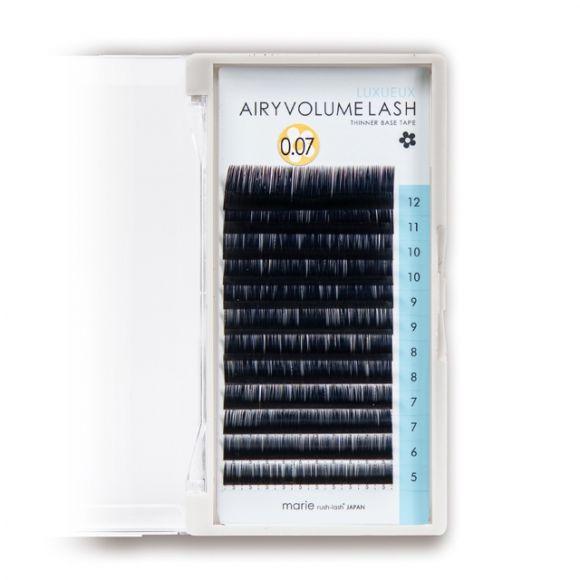 Airy Volume Lash Luxueux D 0.07 x 5-12mm Mix
