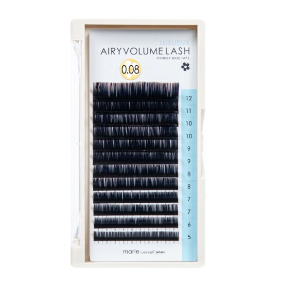 Airy Volume Lash D 0.08 x 5-12mm Mix