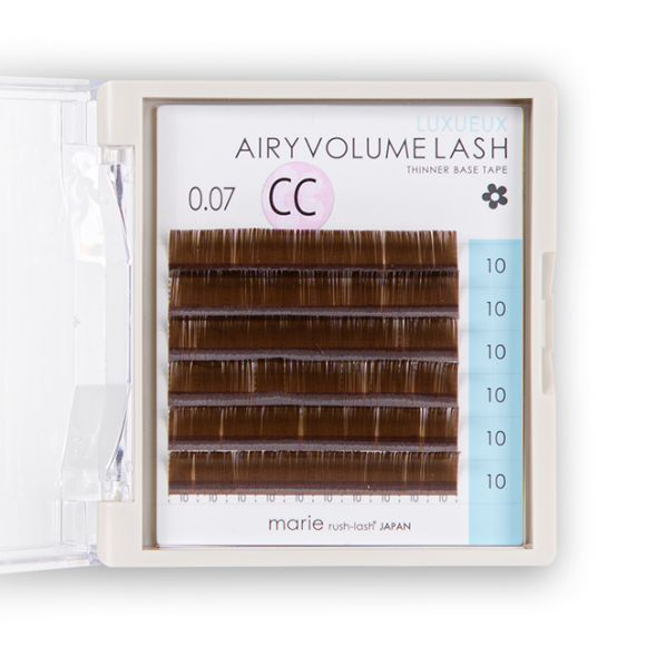 Airy Volume Lash Brown 0.07mm