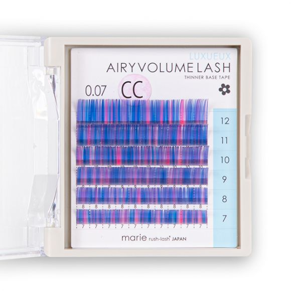 Airy Volume Lash Mixed Colour 0.07mm
