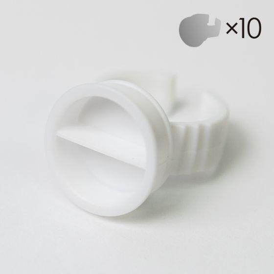 Adhesive Ring with divider (10pcs)