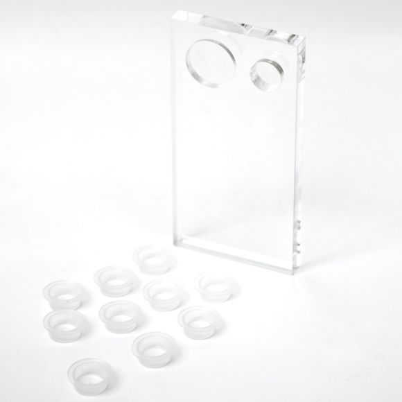 Lash Plate (10 Adhesive cups included)