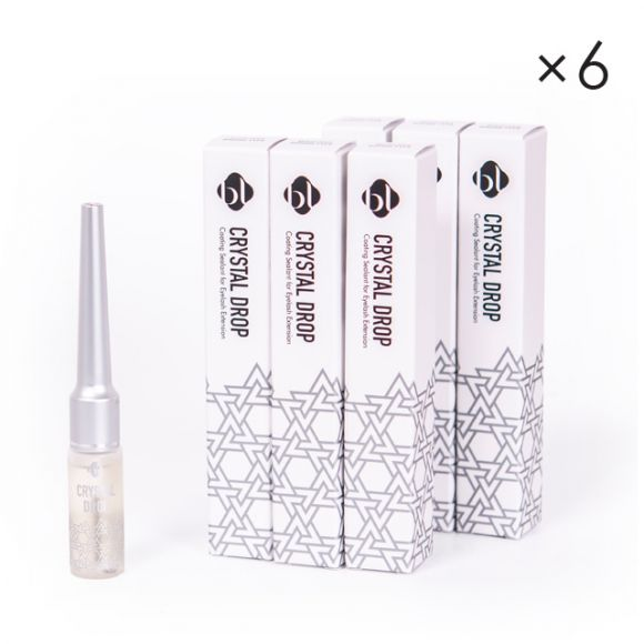 Clear Coating - Mascara Type Swarovski (6pcs)
