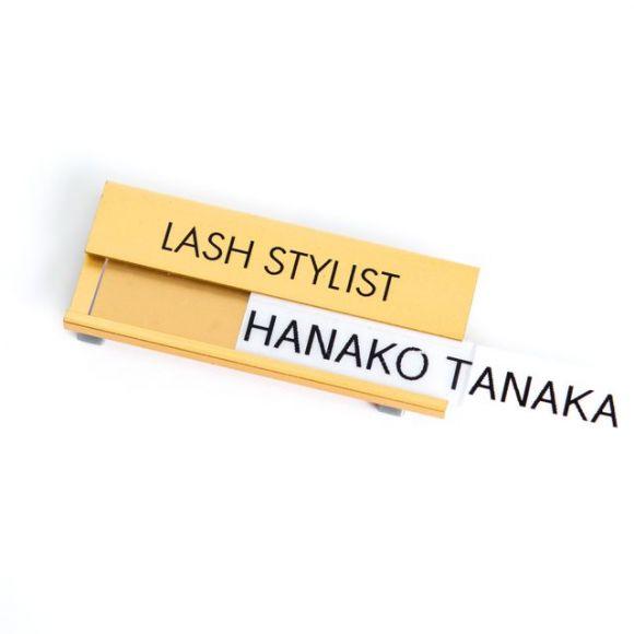 Lash Stylist Badge