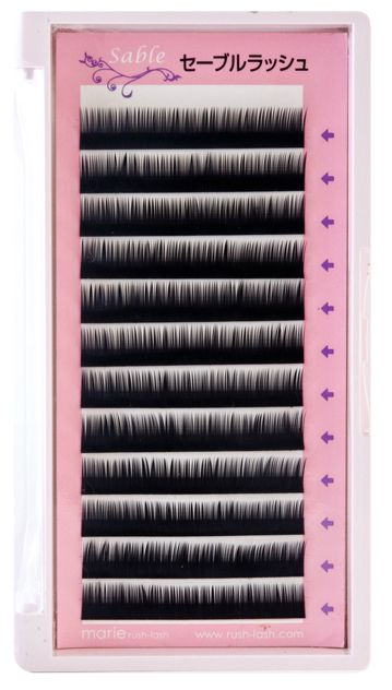 Sable Extensions J Curl 0.10 x 12&13mm