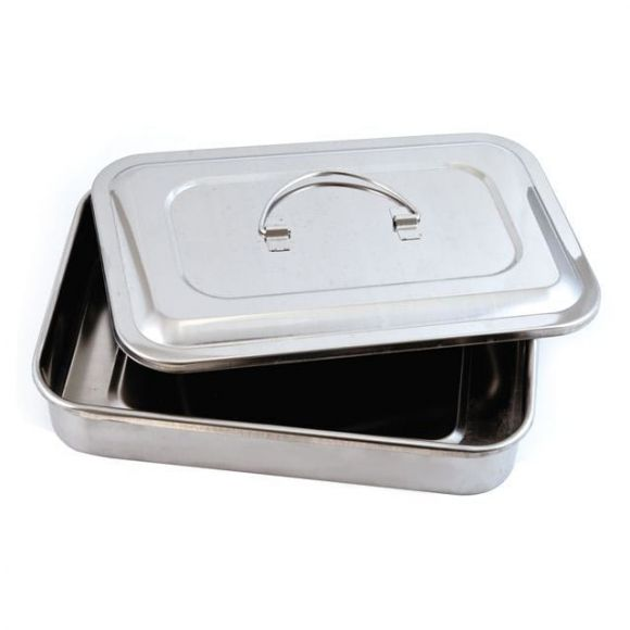 Stainless Steel Sterilizer Tray (With Lid)